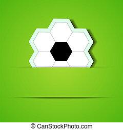 eps10, futebol, text., vetorial, lugar, fundo, seu