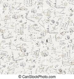 eps10, handlowy, wykresy, abstrakcyjny, tło., wektor