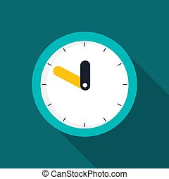 eps10, icon., μικροβιοφορέας , διαμέρισμα , ρολόι , εικόνα