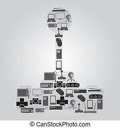 eps10, iconerne, facon, computer, peripherals, joystick