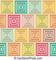 eps10, illustration., パターン, 抽象的, seamless, ベクトル, 背景