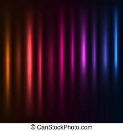 eps10, luz colorida, abstratos, experiência., vetorial, file., colunas