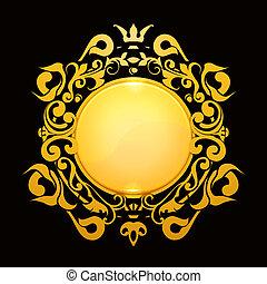 eps10, oro, cornice