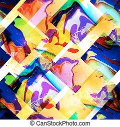 eps10, padrão, abstratos, shapes., seamless, vetorial, geomã©´ricas, texture.
