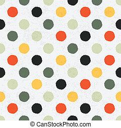 eps10, pattern., polca, seamless, variegou, vetorial, ponto