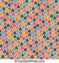 eps10, pattern., seamless, texture, vecteur, retro, géométrique