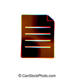 eps10, résumé, arrière-plan., vecteur, blanc, icône