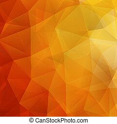 eps10, résumé, shapes., automne, plus, géométrique