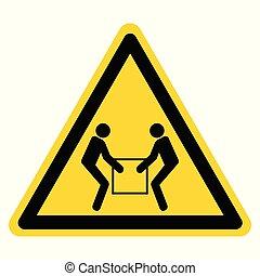 .eps10, usage, illustration, signe, symbole, isoler, deux, étiquette, personne, vecteur, ascenseur, fond, blanc