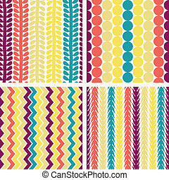 Seamless retro geometric pattern - Eps10 vector file...