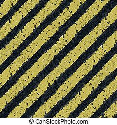 eps8, lines., gele, gevaar, vector