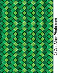 eps8, vector, groene, bont, diamo