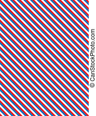 EPS8 Vector Red, White and blue patriotic diagonal striped background.