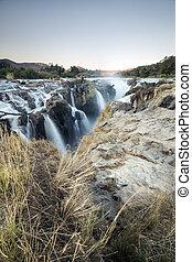 epupa, vízesés, namíbia