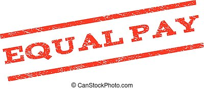 Equal Pay Watermark Stamp