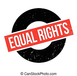 Equal Rights rubber stamp