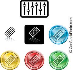 equaliser icon symbol