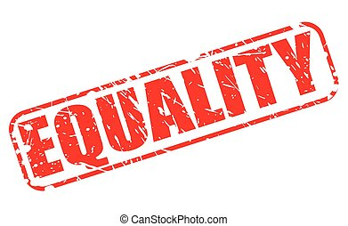 EQUALITY red stamp text