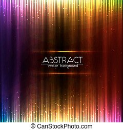 equalizador, abstratos, coloridos, fundo, brilhar