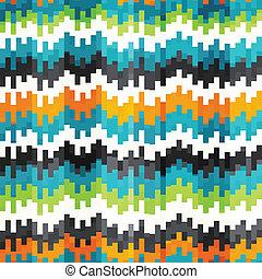 equalizador, abstratos, seamless, padrão
