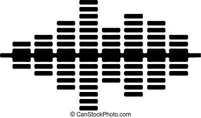 equalizer logo on white background