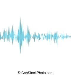 Equalizer music sound studio wave icon. Vector graphic