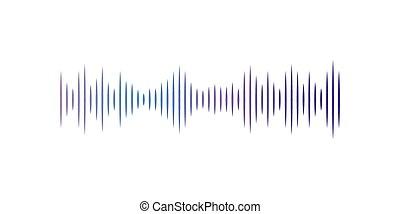equalizer, pols, illustratie, vector, achtergrond, digitale , witte , audio, technologie, muzikalisch