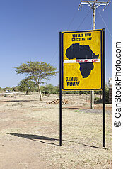 Equator crossing in Kenya - Famous signs when crossing the...