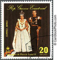 EQUATORIAL GUINEA - CIRCA 1978: A stamp printed in...