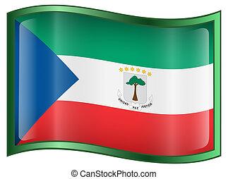 Equatorial Guinea Flag icon.