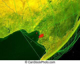 Equatorial Guinea on digital Earth - Equatorial Guinea on ...