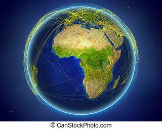 Equatorial Guinea on Earth with networks - Equatorial Guinea...