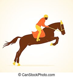 equestrian player design