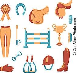 equestrian set