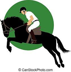 Equestrian sports design
