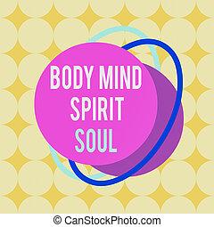 equilibrio, oggetto, multicolour, scrittura, modello, testo, spirito, contorno, terapia, personale, corpo, parola, soul., design., affari, formato, asimmetrico, modellato, mente, stato, irregolare, concetto, conciousness
