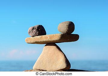 equilibrio, zen, costa