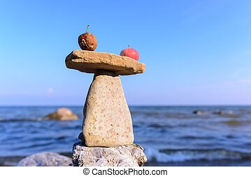 equilibrio, zen, mele