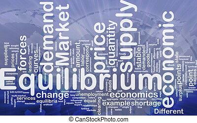 Equilibrium is bone background concept