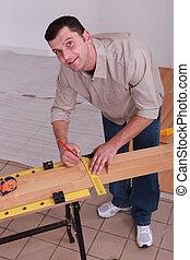 equipaggi posa, pavimento legno