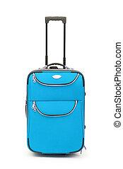 equipaje, concepto, con, caso, en, el, blanco