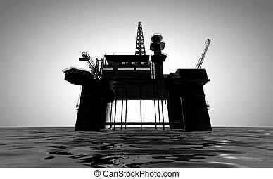 equipamento óleo