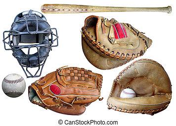 equipamento beisebol