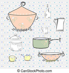 equipamento, cozinha