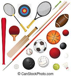 equipamento, esportes