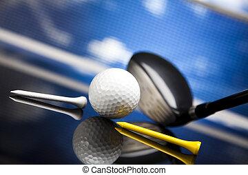 equipamento, golfe