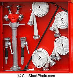 equipamento, hidrante