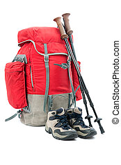 equipamento hiking