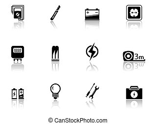 equipamento, jogo, elétrico