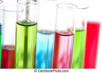 equipamento laboratório, vidro